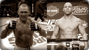 Chris Leben(left) will face Wanderlei Silva at UFC 132