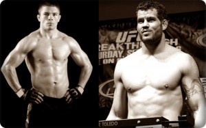 Rick Story(left) will face Nate Marquardt at UFC Live 4