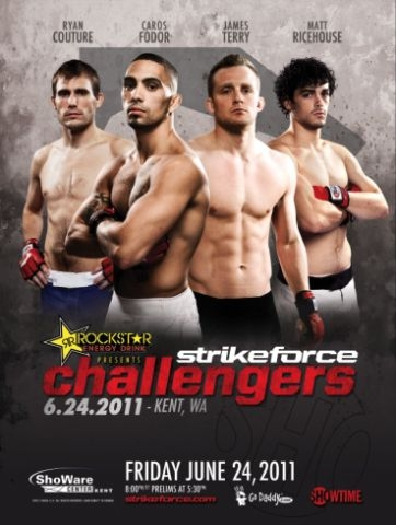 Strikeforce Challengers 16 results and play-by-play