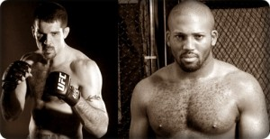 Matt Brown (left) will face John Howard at UFC Live 4