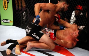 Jorge Masvidal grounding and pounding KJ Noons