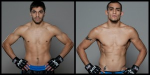 Team dos Santos' Ramsey Nijem will take on Team Lesnar's Tony Ferguson this Saturday, June 4, at the TUF 13 Finale. Photo credit: SpikeTV.com