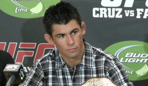 After three years on sidelines Dominick Cruz doesn't feel he's lost a step