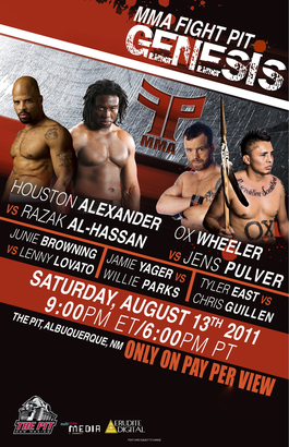 "Bout between legendary Jens Pulver and submission specialist ""Ox"" Wheeler could steal the show at ""MMA Fight Pit: Genesis"""
