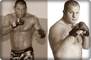 Dan Henderson(left) will face Fedor Emelianenko