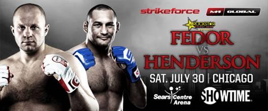 Three questions heading into Strikeforce: Fedor vs. Henderson