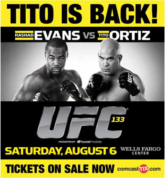 3 questions heading into UFC 133: Evans vs. Ortiz