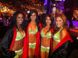 ufc ring girls with lindsey way