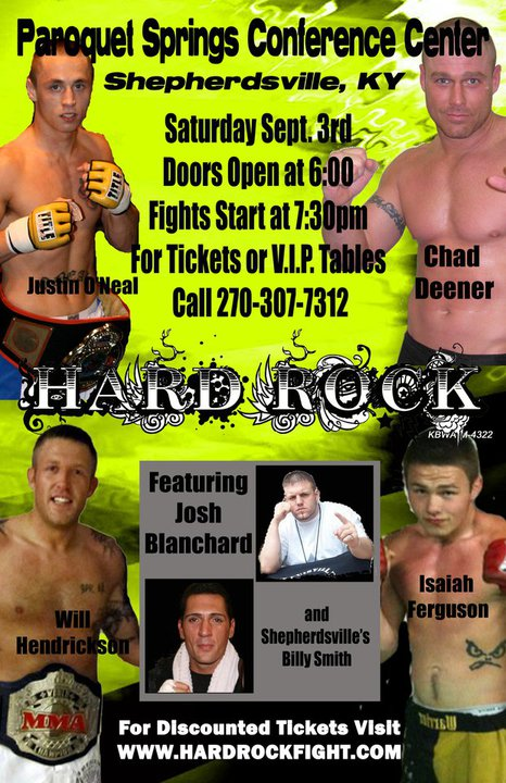 Hard Rock MMA 40 – recap and results