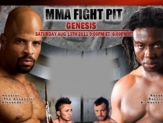 """MMA Fight Pit: Genesis"" results, play-by-play"