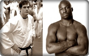 Roger Gracie(left) looks to stay undefeated against King Mo Lawal