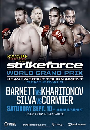 Four questions heading into Strikeforce World Heavyweight Grand Prix: Barnett vs. Kharitonov