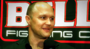 Bellator CEO Bjorn Rebney speaks with ProMMAnow's Susan Cingari