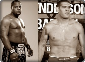 Daniel Cormier(left) will face Antonio Silva