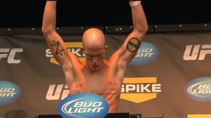 UFC featherweight Erik Koch