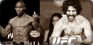Anthony Johnson(left) will face Charlie Brenneman at UFC on Versus 6