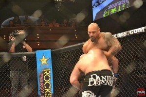lavar johnson defends the takedown