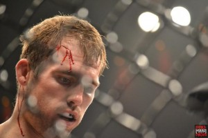 ryan couture cut and bloody