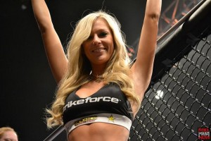 strikeforce ring girl