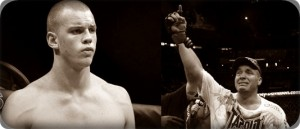 Stefan Struve(left) will face Pat Barry at the UFC on Versus 6 event