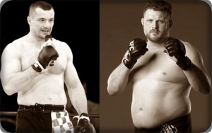 Mirko Cro Cop(left) will face Roy Nelson at UFC 137
