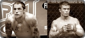 Jeff Curran(left) will face Scott Jorgensen at UFC 137