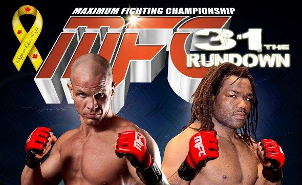MFC 31 fight videos: Jimmo vs. Sokoudjou, Martin vs. Hope, Fadai vs. Maromo, Whitson vs. Johnson