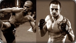 Anthony Njokuani(left) will face Paul Taylor at UFC 138