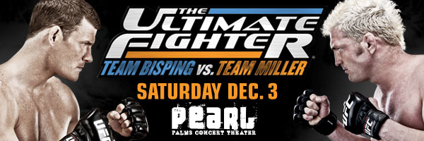TUF 14 Finale to feature Michael Bisping vs. Jason Miller in five round main event on Dec. 3