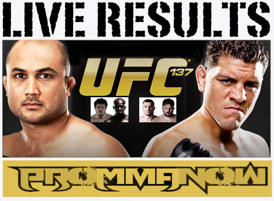UFC 137 LIVE results and play-by-play