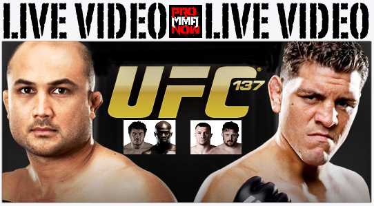 Watch today's UFC 137 weigh-ins LIVE on ProMMAnow.com at 7 p.m. ET