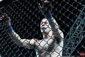 ed west holds cage