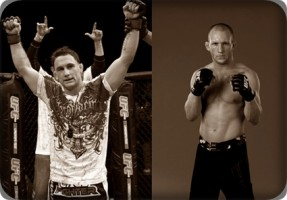 Frankie Edgar(left) will face Gray Maynard for third time at UFC 136