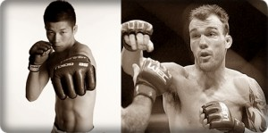 Hatsu Hioki(left) will face George Roop at UFC 137