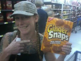 vidonic with ginger snaps