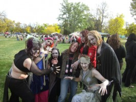 zombie belly dancers