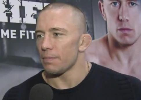 Who's ready for GSP vs. Anderson Silva?! …Unfortunately not GSP