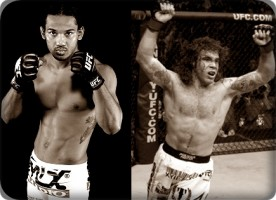 Ben Henderson(left) will face Clay Guida at the UFC on Fox 1 event