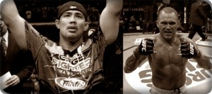 Mark Munoz(left) will face Chris Leben at UFC 138