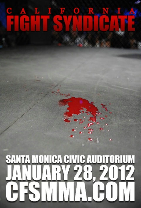 "California Fight Syndicate: ""LA Rivalry"" set for January 28th"