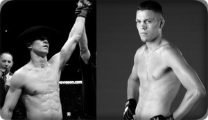 Donald Cerrone(left) will face Nate Diaz at UFC 141