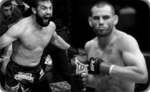 Johny Hendricks(left) will face Jon Fitch at UFC 141