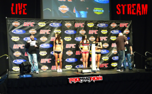 LIVE STREAM - UFC WEIGH INS-SCALE
