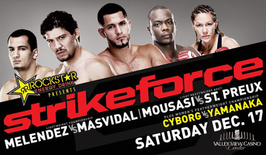 """Strikeforce: """"Melendez vs. Masvidal"""" thoughts and commentary"""