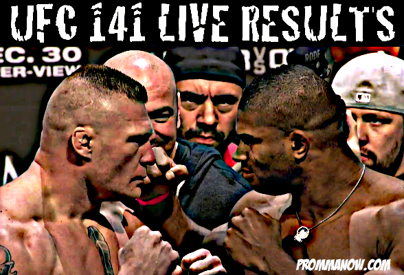 UFC 141 LIVE results and play-by-play : Pro MMA Now