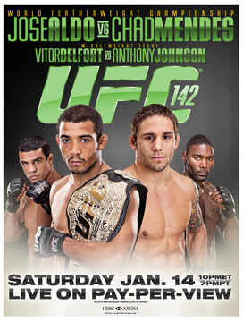 Five fights to be on the lookout for in January 2012