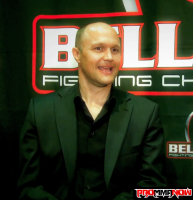 Bellator's Bjorn Rebney says they will never have a sponsor tax like the UFC