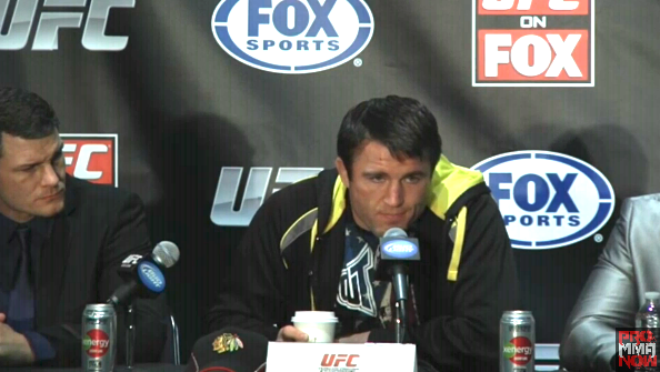 Breaking news: Chael Sonnen vs. Michael Bisping at UFC on FOX event, Munoz out with an injury