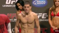 UFC lightweight contender Nate Diaz