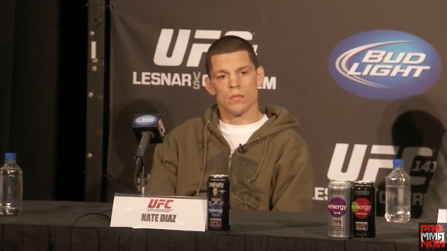 Nate Diaz: 'I'm trying to beat the number one guy in the world'